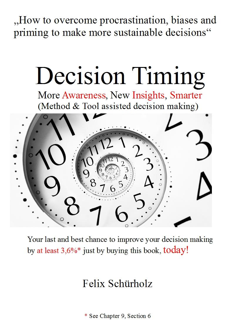 """Mein Buch """"Decision Timing"""" ist seit heute erhältlich"""